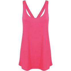 Vêtements Femme Tops / Blouses Skinni Fit Workout Rose néon