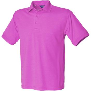 Vêtements Homme Polos manches courtes Henbury HB400 Magenta