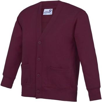 Vêtements Enfant Gilets / Cardigans Awdis Academy Vin rouge