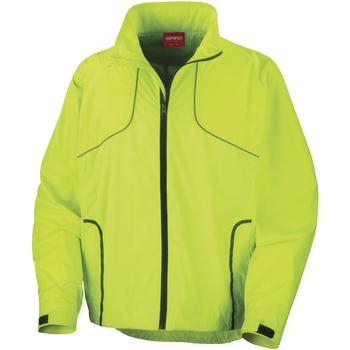 Vêtements Homme Coupes vent Spiro Crosslite Vert citron néon