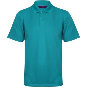 Vêtements Homme Polos manches courtes Henbury HB475 Jade vif