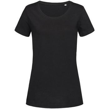 Vêtements Femme T-shirts manches courtes Stedman Stars Sharon Noir