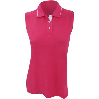 Vêtements Femme Polos manches courtes Gamegear Proactive Framboise/Blanc