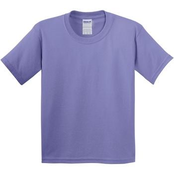 Vêtements Enfant T-shirts manches courtes Gildan 5000B Violet
