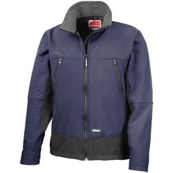 Vêtements Homme Polaires Result R120X Bleu marine/Noir