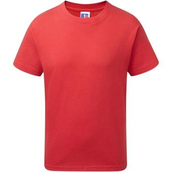 Vêtements Garçon T-shirts manches courtes Jerzees Schoolgear J155B Rouge