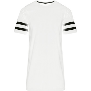 Vêtements Homme T-shirts manches courtes Build Your Brand Jersey Blanc/Noir