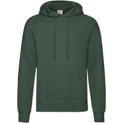 Vêtements Homme Sweats Fruit Of The Loom Hooded Vert foncé