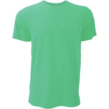 Vêtements Homme T-shirts manches courtes Bella + Canvas Jersey Vert tendre chiné