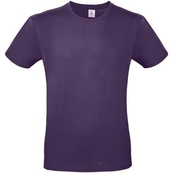 Vêtements Homme T-shirts manches courtes B And C E150 Violet foncé
