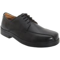 Chaussures Homme Derbies Roamers Tramline Noir
