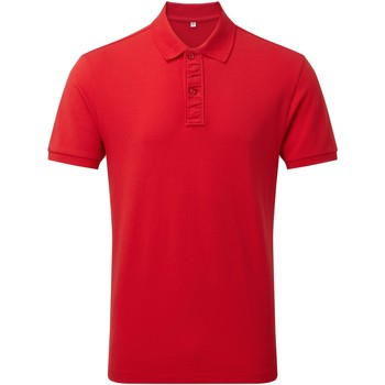 Vêtements Homme Polos manches courtes Asquith & Fox Infinity Rouge