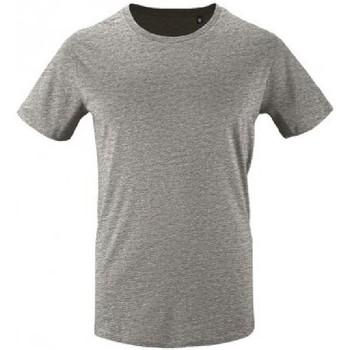 Vêtements Homme T-shirts manches courtes Sols Milo Gris chiné