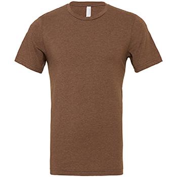 Vêtements Homme T-shirts manches courtes Bella + Canvas Jersey Marron chiné