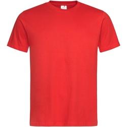 Vêtements Homme T-shirts manches courtes Stedman Stars Organic Rouge