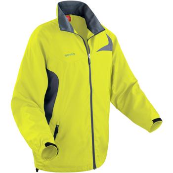 Vêtements Homme Coupes vent Spiro Performance Vert citron/Gris
