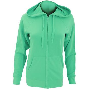 Vêtements Femme Sweats Fruit Of The Loom Lightweight Vert tendre