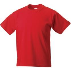 Vêtements Enfant T-shirts manches courtes Jerzees Schoolgear Classics Rouge vif