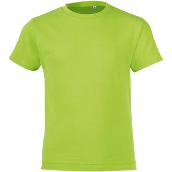 Vêtements Enfant T-shirts manches courtes Sols Regent Vert pomme