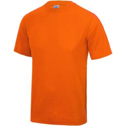 Vêtements Enfant T-shirts manches courtes Just Cool JC01J Orange électrique