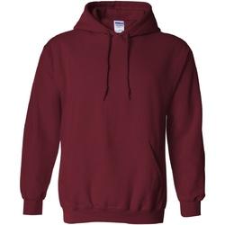 Vêtements Sweats Gildan Hooded Rouge grenat