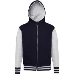 Vêtements Enfant Sweats Awdis Varsity Bleu marine/Gris chiné