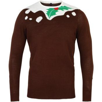 Vêtements Homme Pulls Christmas Shop Christmas Marron/Blanc