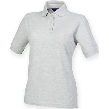 Vêtements Femme Polos manches courtes Henbury HB401 Gris
