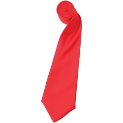 Vêtements Homme Cravates et accessoires Premier Satin Rouge fraise