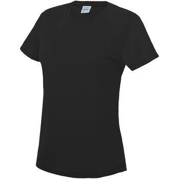 Vêtements Femme T-shirts manches courtes Just Cool JC005 Noir