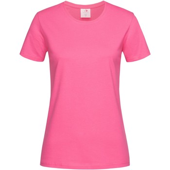 Vêtements Femme T-shirts manches courtes Stedman Classics Rose