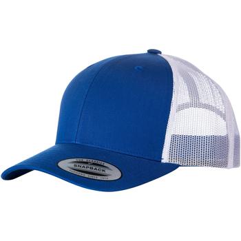 Accessoires textile Casquettes Yupoong  Bleu roi vif/Blanc