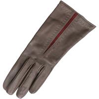 Accessoires textile Femme Gants Eastern Counties Leather Contrast Marron foncé / Rouge