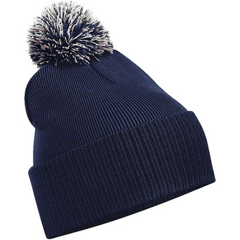 Accessoires textile Fille Bonnets Beechfield Snowstar Bleu marine/Gris clair