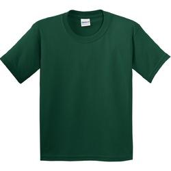 Vêtements Enfant T-shirts manches courtes Gildan 5000B Vert foncé