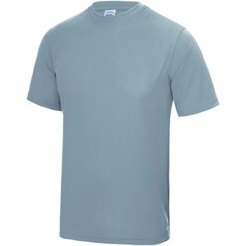 Vêtements Enfant T-shirts manches courtes Just Cool JC01J Bleu ciel