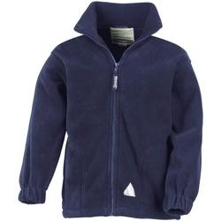 Vêtements Enfant Polaires Result R36JY Bleu marine