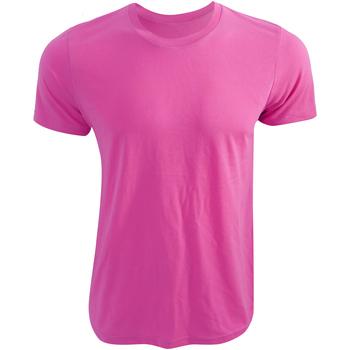 Vêtements T-shirts manches courtes Bella + Canvas CA3650 Rose fluo