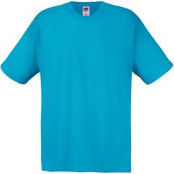 Vêtements Homme T-shirts manches courtes Universal Textiles 61082 Cyan