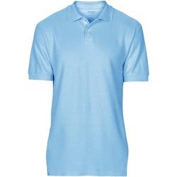 Vêtements Homme Polos manches courtes Gildan Softstyle Bleu clair