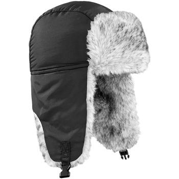 Accessoires textile Chapeaux Beechfield Sherpa Noir