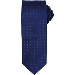 Vêtements Homme Cravates et accessoires Premier Dot Pattern Bleu marine/Rouge