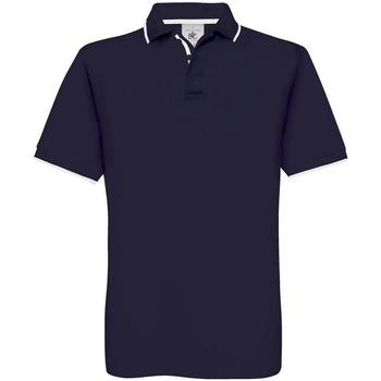 Vêtements Homme Voir tous les vêtements femme B And C BA351 Bleu marine/Blanc