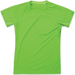 Vêtements Femme T-shirts manches courtes Stedman Raglan Vert kiwi