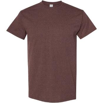 Vêtements Homme T-shirts manches courtes Gildan Heavy Tanné