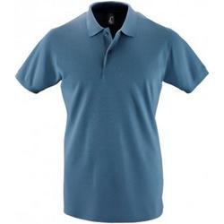 Vêtements Homme Polos manches courtes Sols 11346 Bleu ardoise