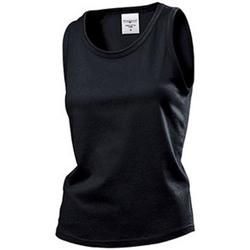 Vêtements Femme Débardeurs / T-shirts sans manche Stedman Classics Noir