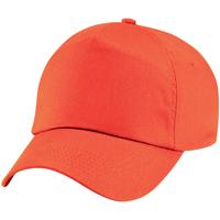 Accessoires textile Enfant Casquettes Beechfield Baseball Orange