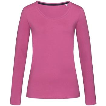 Vêtements Femme T-shirts manches longues Stedman Stars Claire Violet