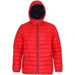 Vêtements Homme Doudounes 2786 Hooded Rouge/ Bleu marine
